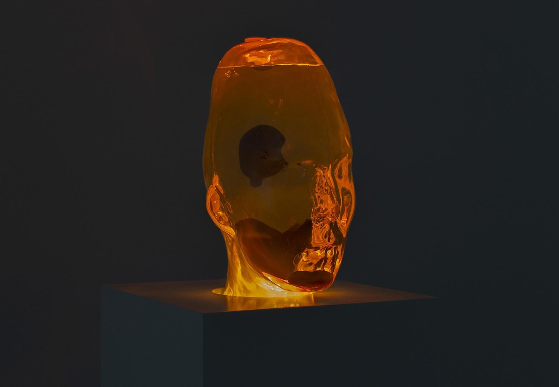 Orange lavahode