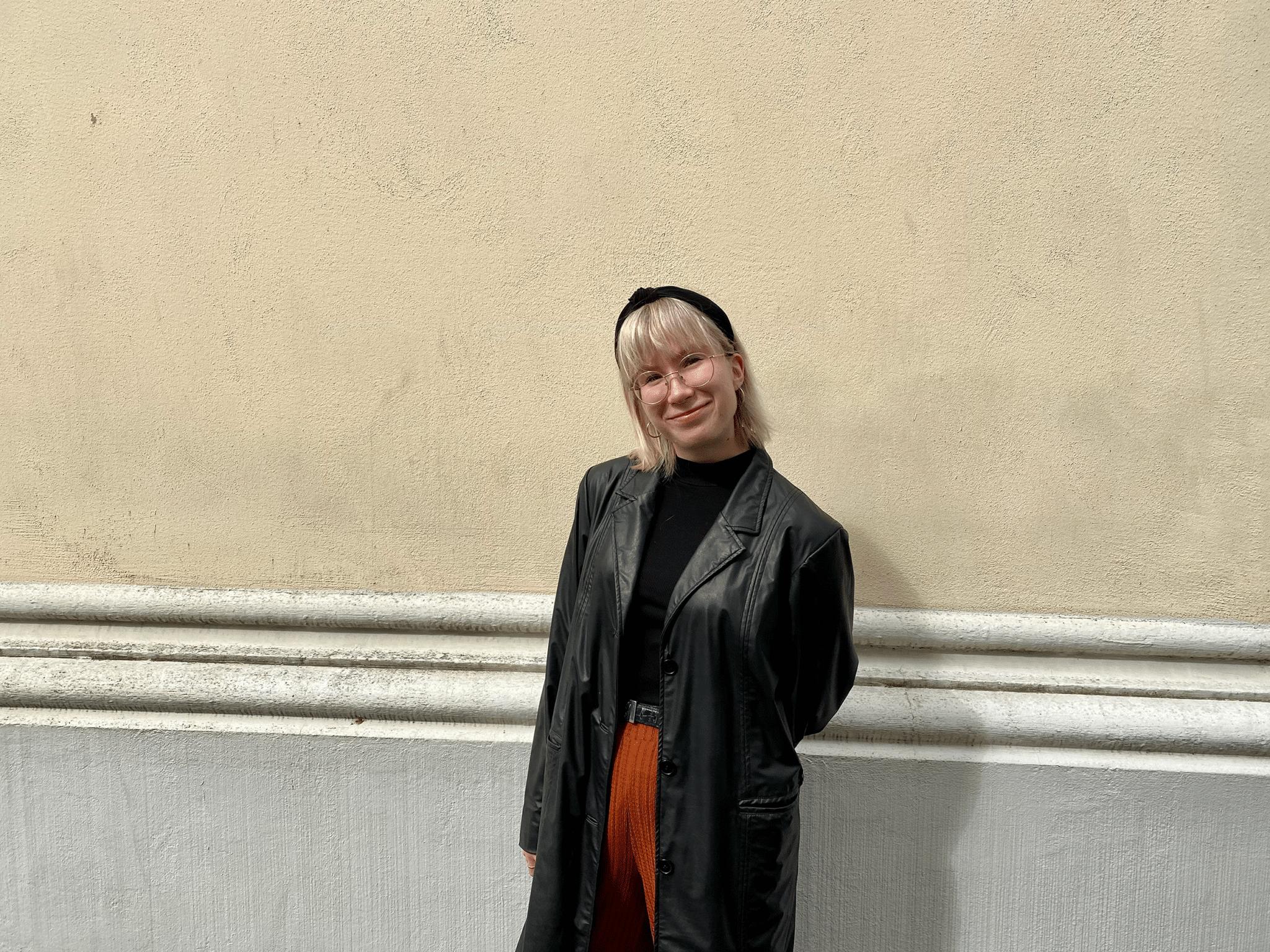 Nye praktikant Tilda Anttila
